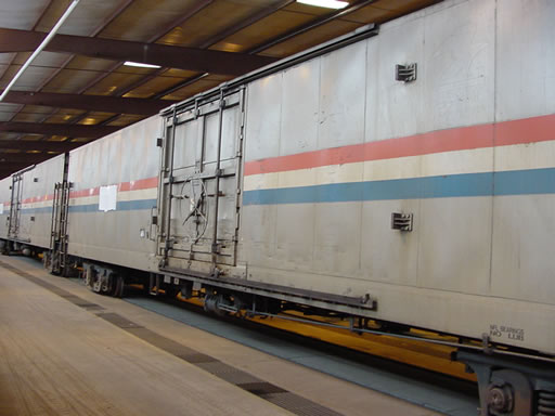 Amtrak Freight Car